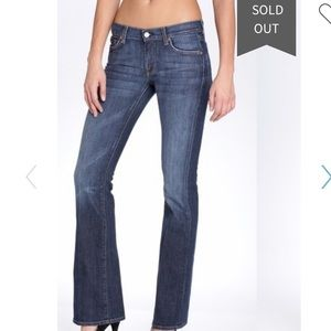 """7 For All Mankind Stretch Flare 28"""" x 33"""""""